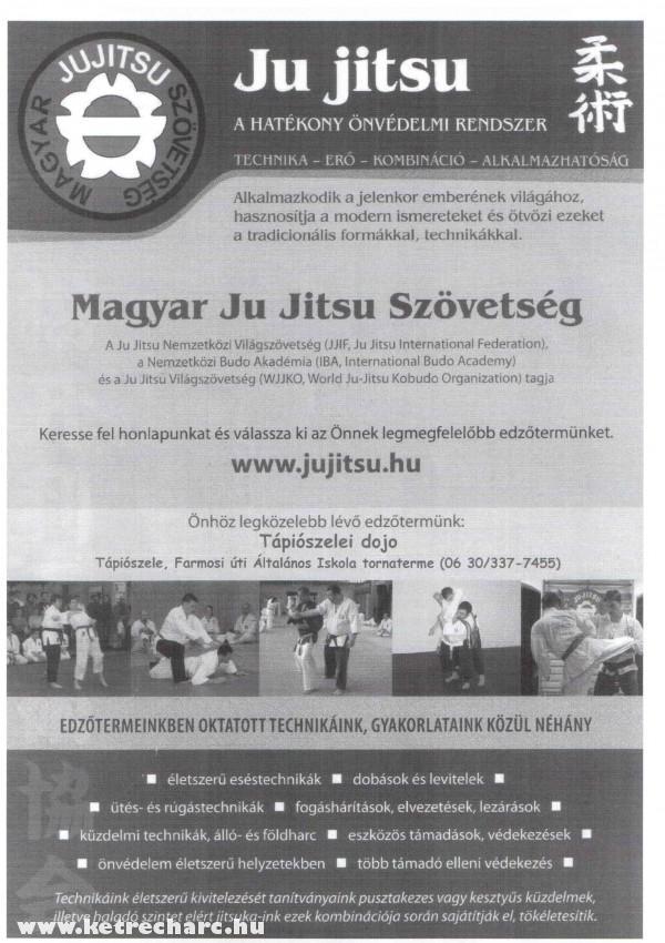 Ju Jitsu edzés