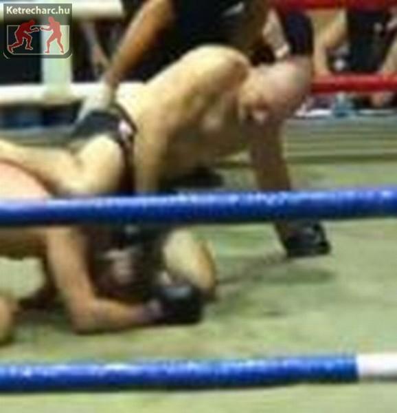Kerepeczki Gábor vs Gulyás Csaba, MMA - videóval