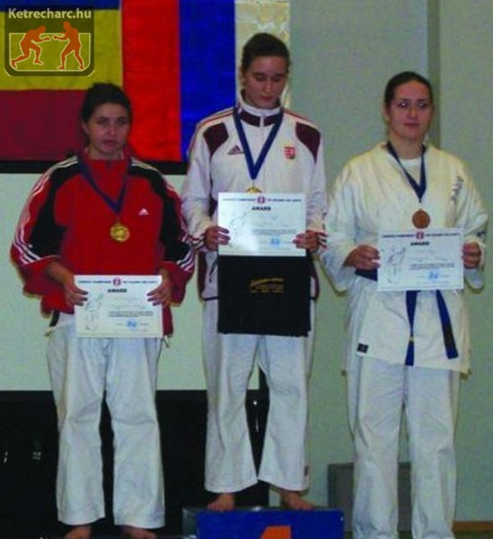 Ashihara karate Európa Bajnok lett Piacsik Zsófia