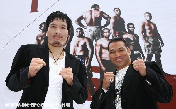 Hong Man Choi és Ray Sefo is megküzdött egymással