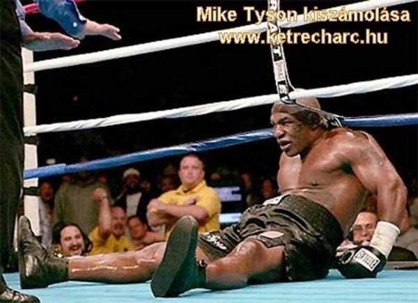 Mike Tyson kiszámolása - ez csak sport!
