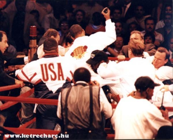Összetûzés a ringben