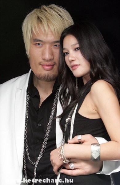 Choi a csajával