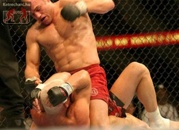 Randy Couture MMA harcos
