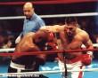 Kivédett ütés a box meccsen