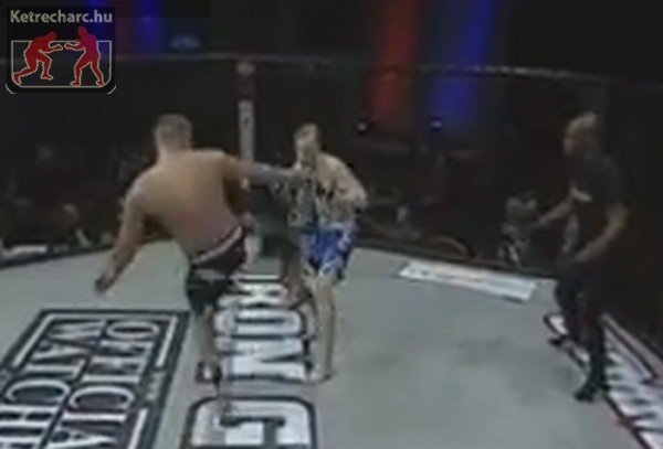 Videó: 1 másodperc kellett a világ leggyorsabb MMA-s K.O.-jához